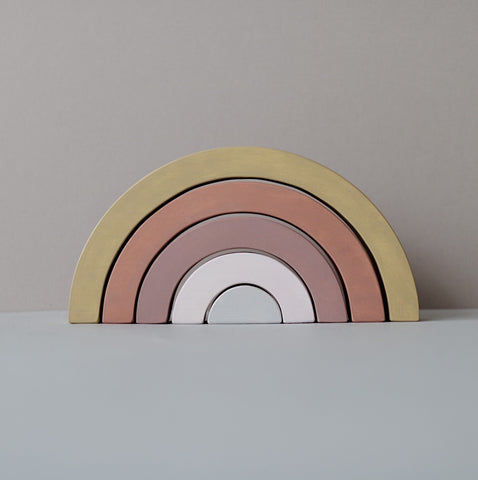 Wooden Rainbow  - Custom colour choice - Happy Little Folks