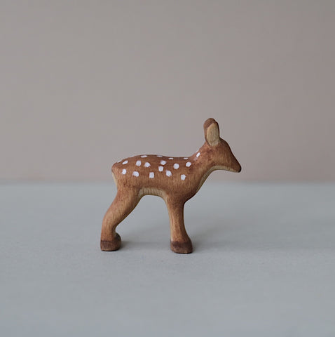 Wooden Fawn toy