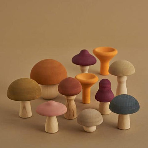 Mushrooms by Raduga Grez