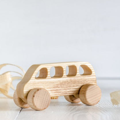 Wooden car toy - Van - Happy Little Folks