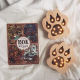 Wooden Paw LED lamp by Little Lights - Happy Little Folks