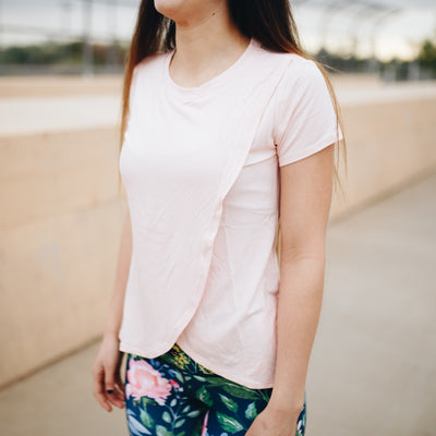 Tulip Tee - Light Pink