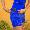 Baseline Shorts (5 in. inseam) - Sweet Blue Brushstroke