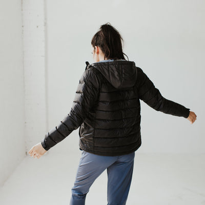 Lite Down Jacket - Black