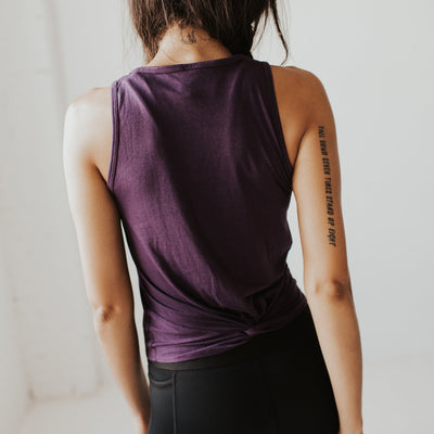 Knotty Tank - Purple