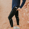 Thermal Brushed Pants - Black