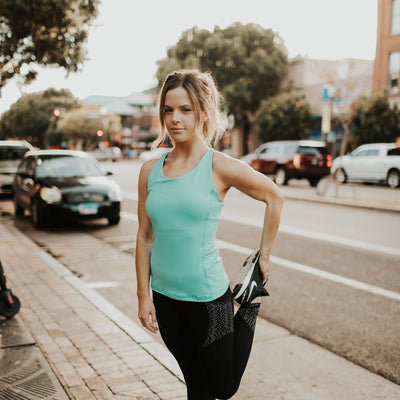 On The Go Tank - Mint