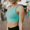 Ready Set Sports Bra - Mint