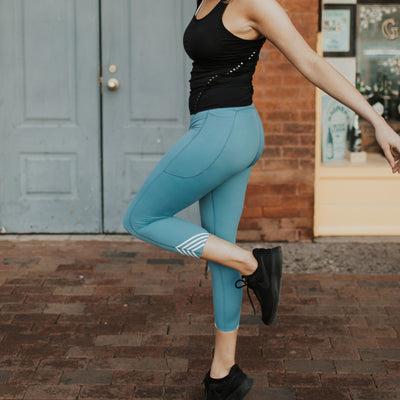Reflect 7/8 Tights - Surf