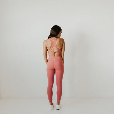 High Waisted Pants - Clay