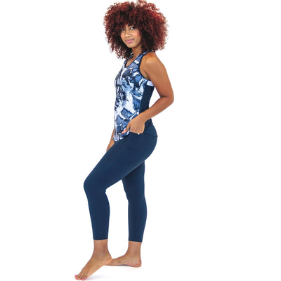 7/8 Capris - Navy - Senita Athletics