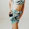 High Waisted Rio Shorts (3.75 in. inseam) - Palm Green