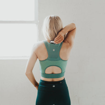 Malibu Crop Top - Green