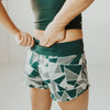 Swift Shorts 3 - Green Geo