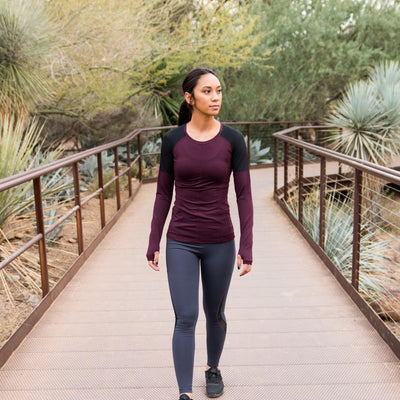 Accelerate Long Sleeve - Plum