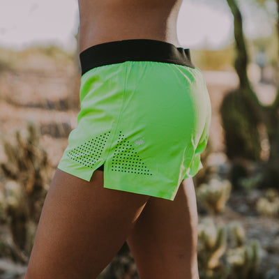 Sprint Shorts - Lime