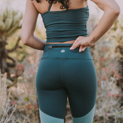 Triple Threat Capris - Green