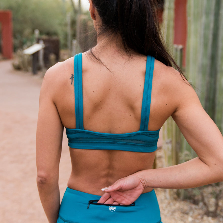 Freedom Sports Bra - Teal