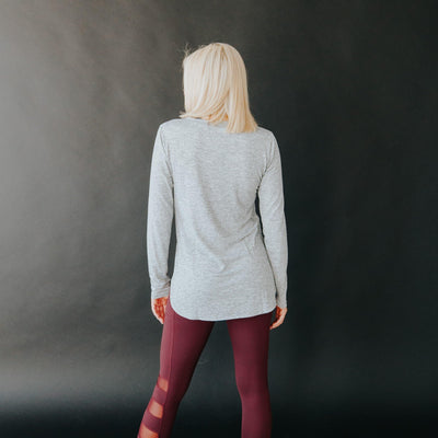Agility Long Sleeve - Light Gray