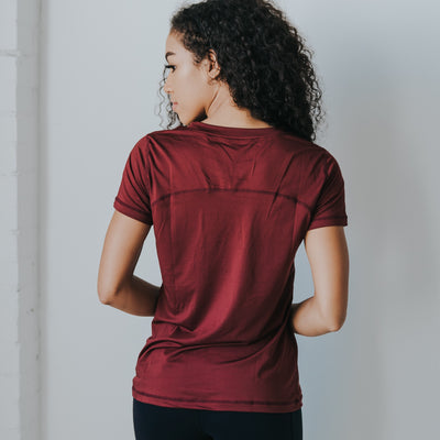 Performance Tee - Mulberry
