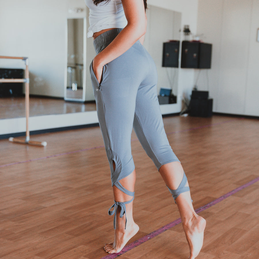 Tied Up Joggers - Cool Gray