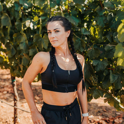 Max Out Sports Bra - Black