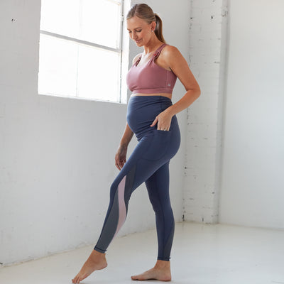 Precious Cargo Maternity Pants - Light Navy