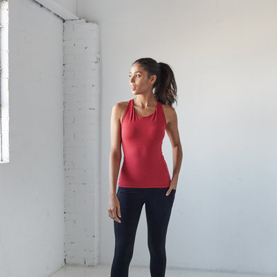 On The Go Tank - Burnt Red