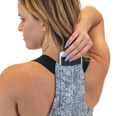 Max Out Sports Bra - Herringbone