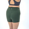Lux High Waisted Rio Shorts (3.75 in. inseam) - Evergreen