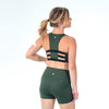 Dominate Sports Bra - Evergreen