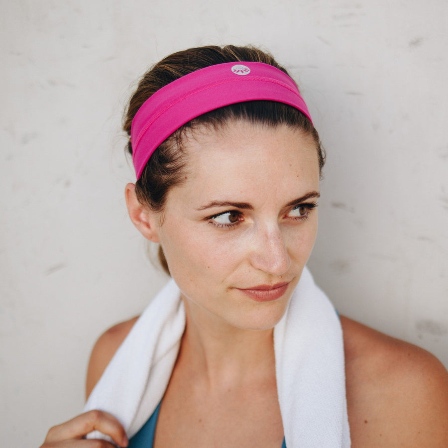 Accessories - No-Slip Headband - Magenta