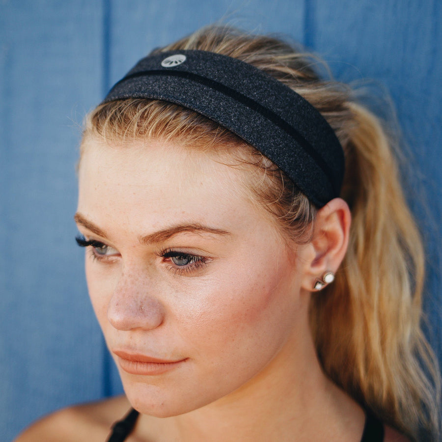 Accessories - No-Slip Headband - Slate