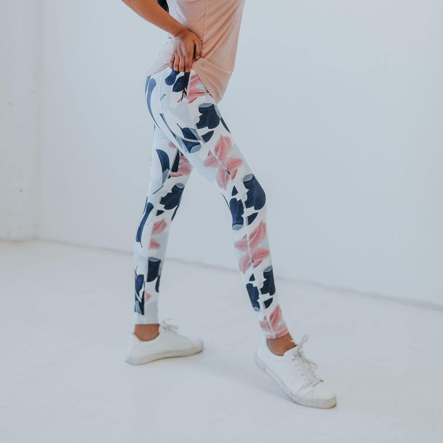 Amp Leggings - Magnolia - Senita Athletics