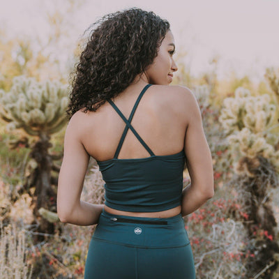 Ava Crop Top - Ponderosa - Senita Athletics