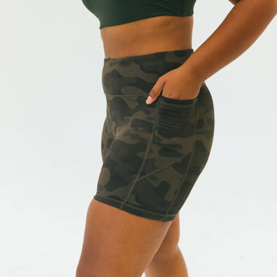 Baseline Shorts (5 in. inseam) - Camo - Senita Athletics