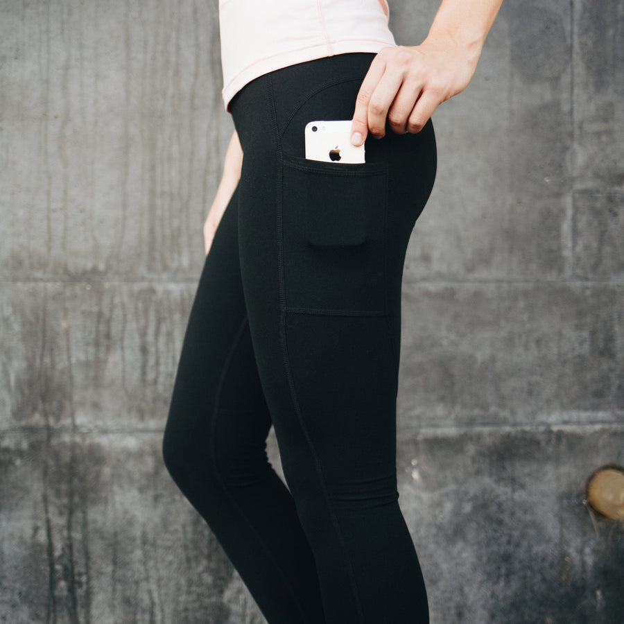 Bottoms - Denali Leggings - Black