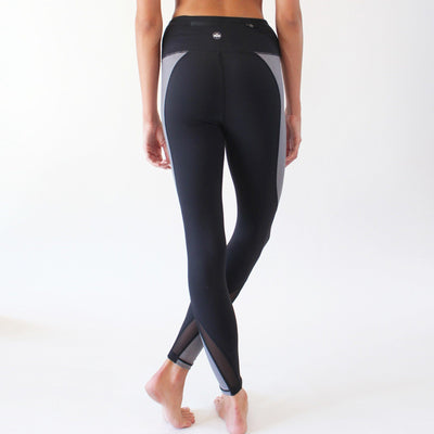 Bottoms - Motion Pants (High Waisted)- Black/Gray
