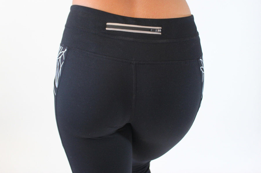 Bottoms - Pocket Capris - Black