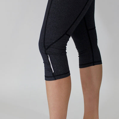 Bottoms - Pocket Capris - Slate