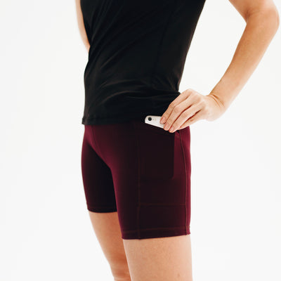 Bottoms - Rio Shorts (7 In. Inseam) - Plum