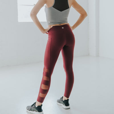 Fierce Pants - Mulberry - Senita Athletics
