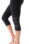 Fierce Capris 2 - Black