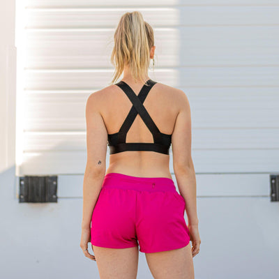 Flex Sports Bra - Black - Senita Athletics