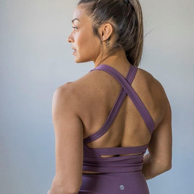 Harmony Crop Top - Lilac - Senita Athletics