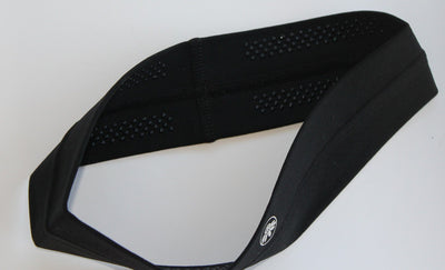 No-Slip Headband - Black - Senita Athletics