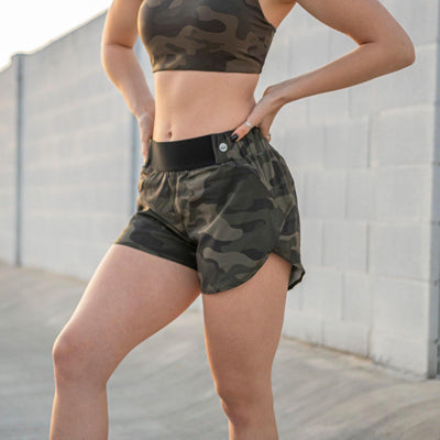 Prize Shorts 2 - Camo - Senita Athletics
