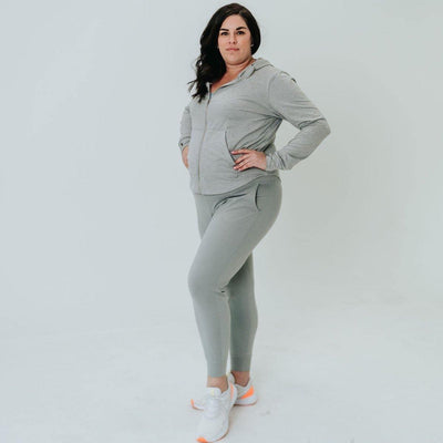 Studio Skin Joggers - Heathered Gray - Senita Athletics