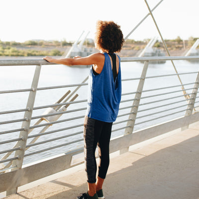 Tops - Freedom Tank - Blue