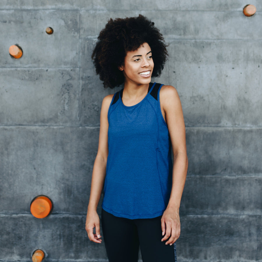 Tops - Infinity Tank - Blue